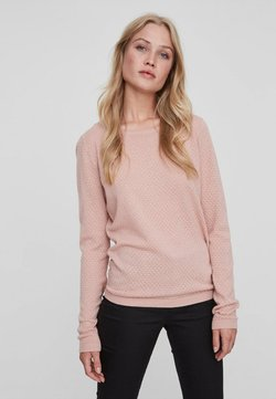Vero Moda - Strickpullover - misty rose