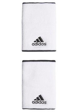 adidas Performance - TENNIS WRISTBAND LARGE - Svettebånd - white