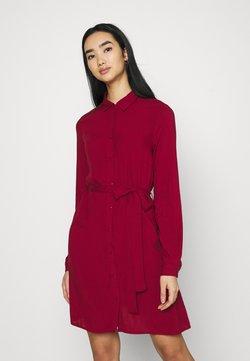 Even&Odd - Vestido camisero - red