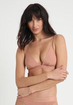 Calvin Klein Underwear - UNLINED - Triangel BH - beige