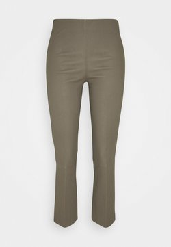By Malene Birger - FLORENTINA - Pantalon en cuir - dark mink