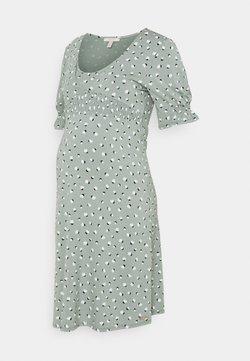 Esprit Maternity - DRESS NURSING - Jerseykjoler - grey moss