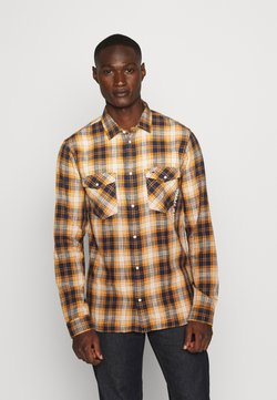 Tommy Jeans - WESTERN CHECK - Chemise - spiced toddy/multi