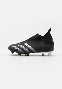adidas Performance - PREDATOR FREAK .3 LL SG - Chaussures de foot à lamelles - core black/footwear white