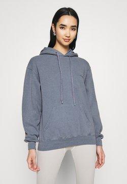 BDG Urban Outfitters - SKATE HOODIE - Kapuzenpullover - blue