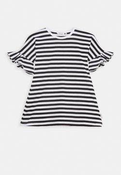 Marimekko - LAAJA TASARAITA - Jerseykleid - black/white