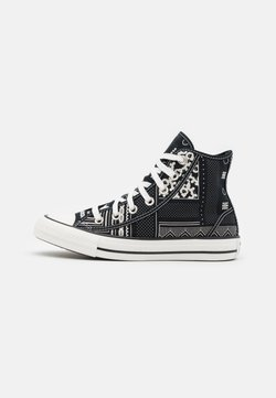 Converse - CHUCK TAYLOR ALL STAR UNISEX - Sneakers high - black/vintage white