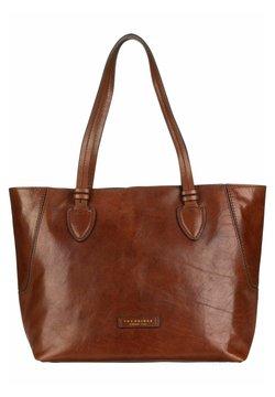 The Bridge - CATERINA  - Shopping Bag - marrone/oro