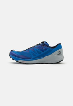 Salomon - SENSE RIDE 4 - Zapatillas de trail running - turkish sea/pearl blue/night sky