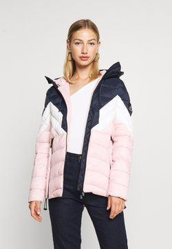 Superdry - COLOUR BLOCK ECLIPSE PADDED JACKET - Winterjacke - chalk pink