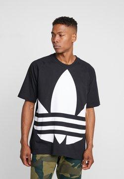 adidas Originals - TREFOIL TEE - T-shirts print - black