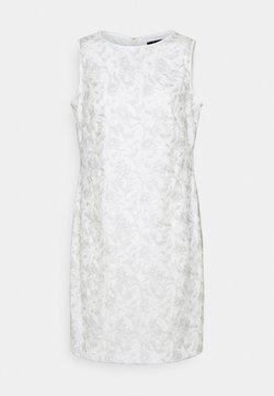 Lauren Ralph Lauren - MELLIE SLEEVELESS EVENING DRESS - Cocktailkleid/festliches Kleid - white/silver