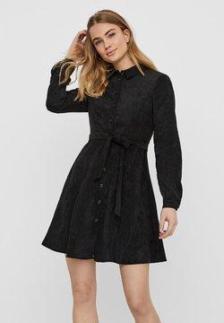 Vero Moda - Abito a camicia - black