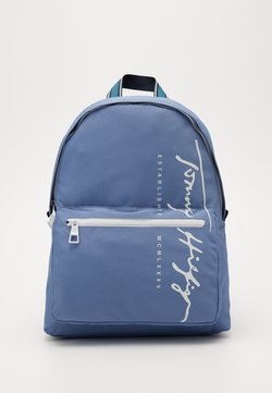 Tommy Hilfiger - SIGNATURE BACKPACK - Reppu - blue