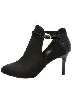 Next - DOGTOOTH FOREVER COMFORT - High Heel Stiefelette - mottled black