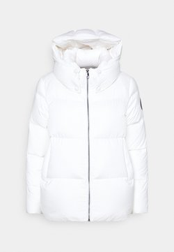 Tommy Hilfiger - PUFFY HOODED - Daunenjacke - ecru