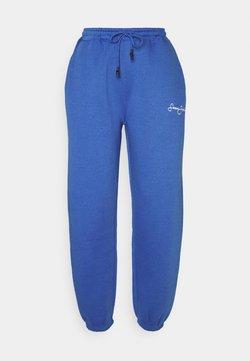 Missguided - CLASSIC JOGGERS - Jogginghose - blue