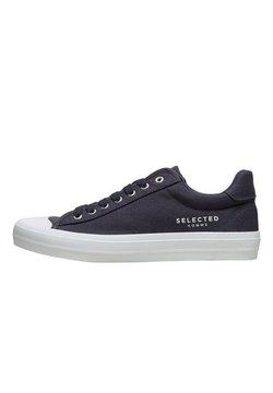 Selected Homme - SNEAKERS CANVAS - Sneakers laag - dark navy