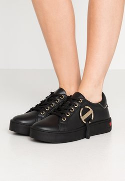 Love Moschino - DAILY LOVE - Sneakers laag - black