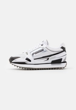 Puma - MILE RIDER SUNNY GATAWAY  - Sneakers laag - white/black