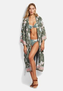 Seafolly - SEAFOLLY BALINESE - Strandaccessoire - olive leaf
