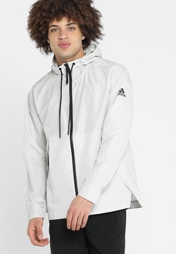 adidas Performance - URBAN - Windbreaker - raw white