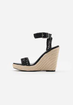 NA-KD - Sandalen met hoge hak - black