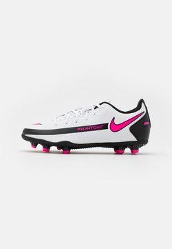 Nike Performance - JR PHANTOM GT CLUB FG/MG UNISEX - Fotballsko - white/pink blast/black