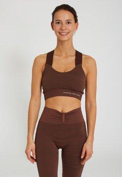 Yogasearcher - LAKSHMI - Sport-BH mit mittlerer Stützkraft - brown