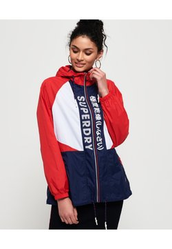 Superdry - Windbreaker - navy blue/white/red