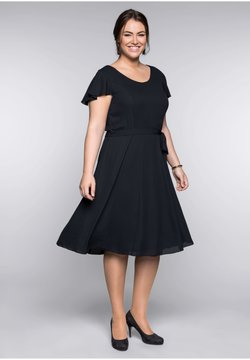 Sheego - Vestito elegante - black