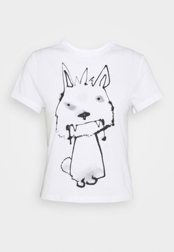Weekday - FOREVER - T-shirt imprimé - thirsty dog