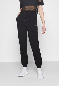 Fila - EDENA HIGH WAIST PANTS - Jogginghose - black