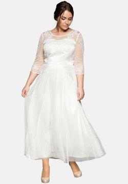Sheego - Cocktailkleid/festliches Kleid - offwhite