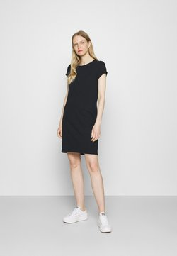 GAP - TEE DRESS - Vestido ligero - true black