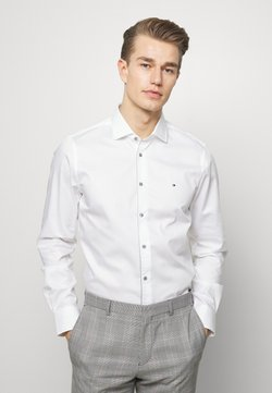 Tommy Hilfiger Tailored - PIPING CLASSIC SLIM  - Camicia elegante - white