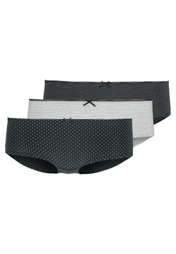 Marc O'Polo - 3 PACK - Panties - black/white