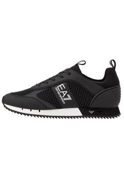 EA7 Emporio Armani - Sneakers laag - black/white