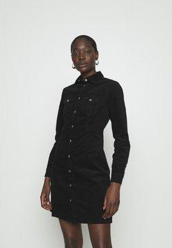 Dorothy Perkins - STRUCTURED SHIRT DRESS - Blusenkleid - black