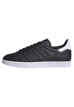 adidas Originals - GAZELLE SHOES - Baskets basses - black