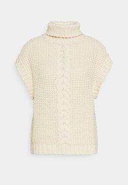 Vero Moda - VMMAGIC ROLL NECK - Pullover - birch