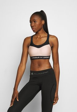 Under Armour - HIGH CROSSBACK BRA - Urheiluliivit - desert rose