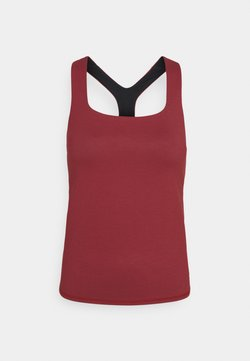 Sweaty Betty - SUPER SCULPT YOGA  - Camiseta de deporte - renaissance red marl