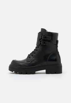 Replay - VEGAN HANNA AISTONE - Platform ankle boots - black
