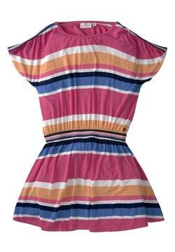 TOM TAILOR - Jerseykleid - kids stripe mulitcolored