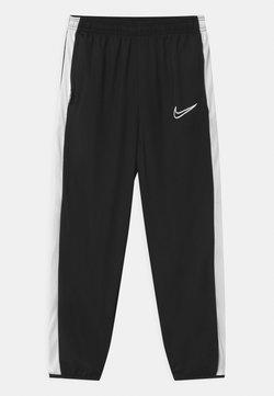 Nike Performance - DRY UNISEX - Verryttelyhousut - black/white