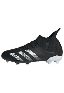 adidas Performance - PREDATOR FREAK FG UNISEX - Chaussures de foot à crampons - core black/ftwr white/core black