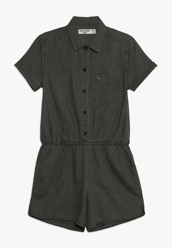 Abercrombie & Fitch - AIR CHASE MILITARY ROMPER  - Combinaison - olive