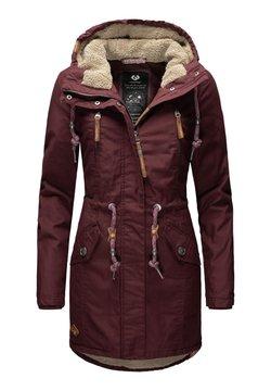 Ragwear - Wintermantel - dark red