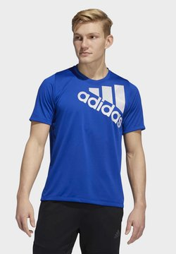 adidas Performance - TOKYO BADGE OF SPORT T-SHIRT - Camiseta estampada - blue